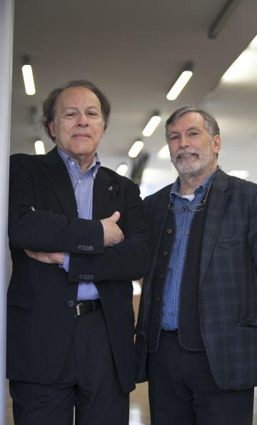 Javier y Fernando Marías.