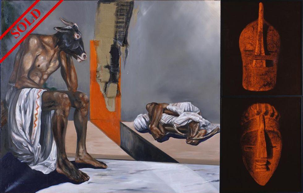 'Della bestia triunphante', obra de Quaresma valorada en 2.000 euros y comprada por el IVAM por 32.400.