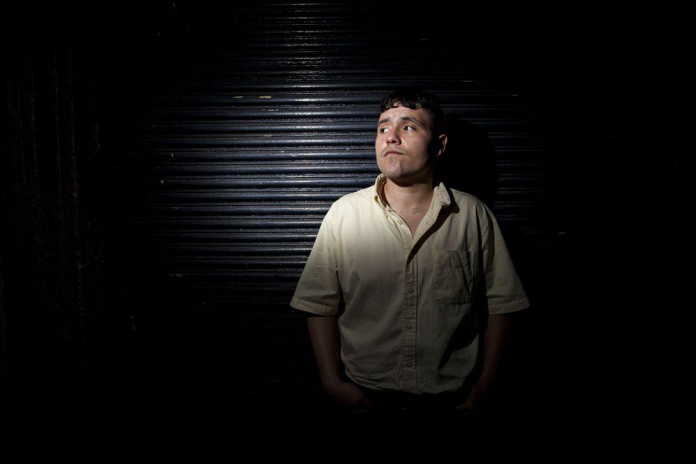 El cantante Juan Cirerol en México DF.