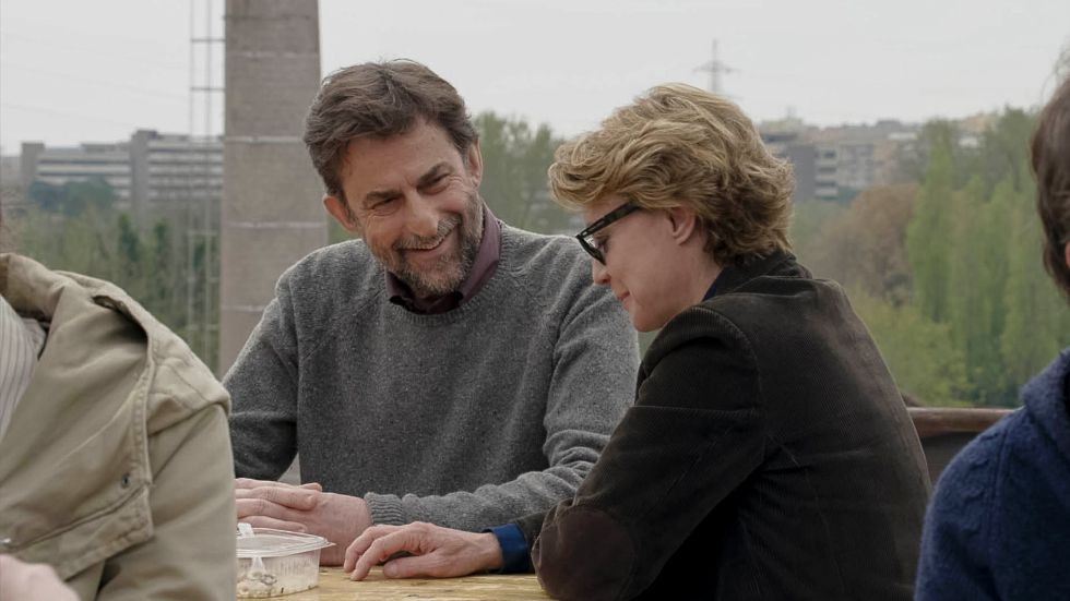 Nanni Moretti y Marguerita Buy, en 'Mia madre'