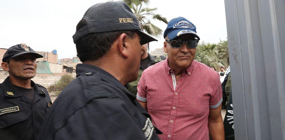 Demetrio Limonier Chávez Peñaherrera a la salida del penal Miguel Castro Castro tras 22 años encarcelado, el pasado 13 de enero.