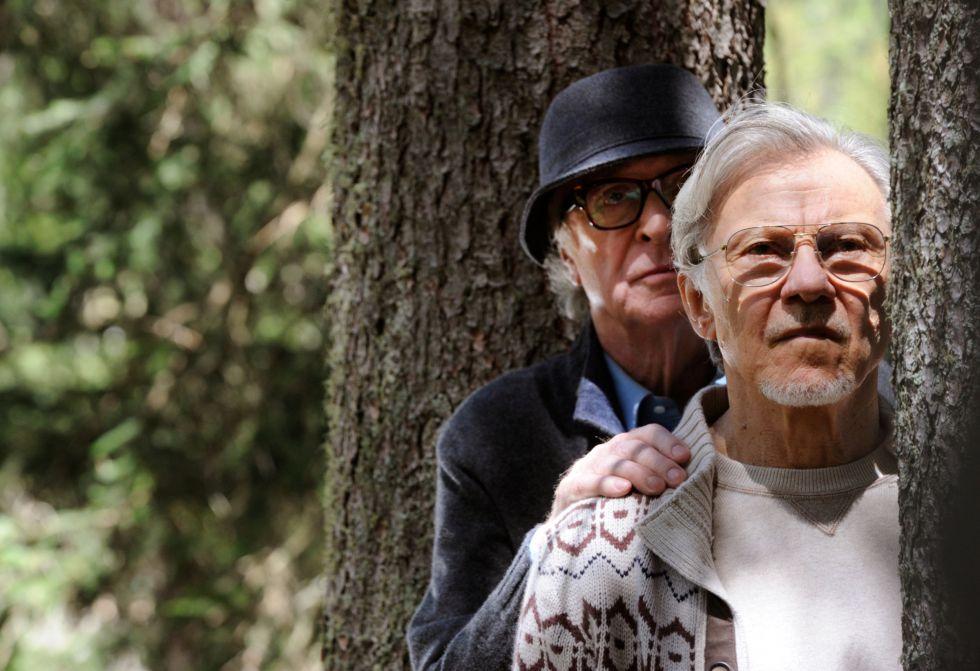 Michael Caine (izquierda) y Harvey Keitel, en un fotograma de 'La juventud'