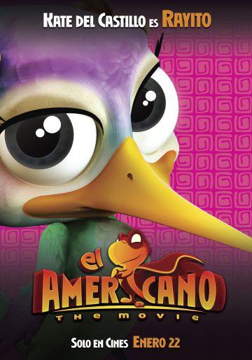 El afiche del personaje al que da voz Kate del Castillo.