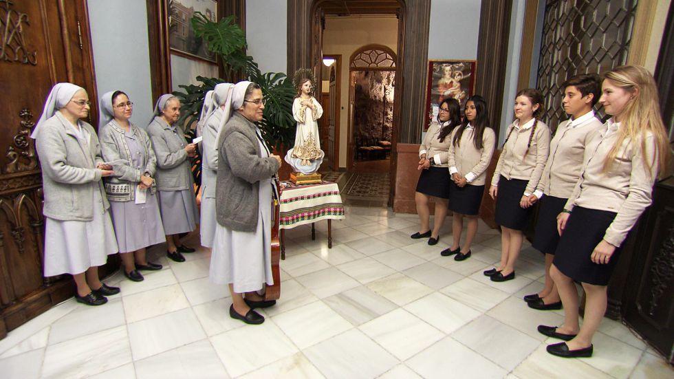 Imagen de la primera entrega del programa 'Quiero ser monja', que Cuatro emitirá próximamente.