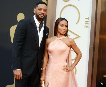 Will Smith y Jada Pinkett Smith, en los Oscar de 2014.