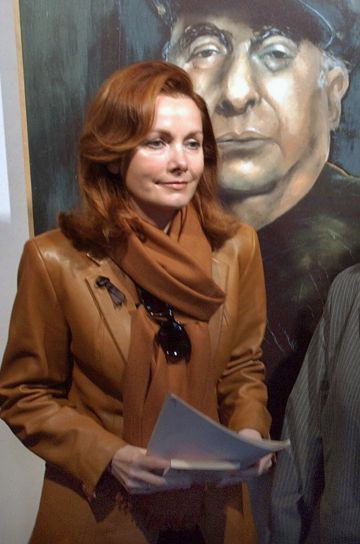 Sofia Gandarias, en una imagen de julio de 2004.