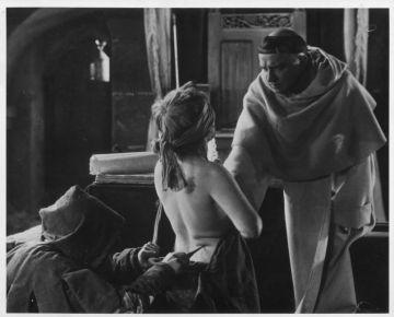 Un fotograma de la película danesa clásica sobre brujería 'Haxan' (1922)