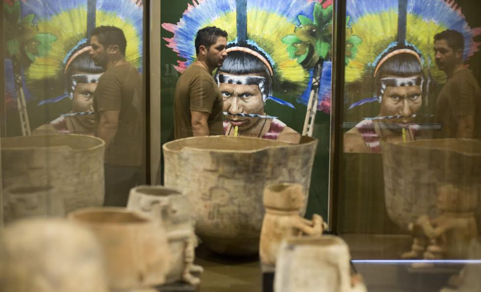 El museo pretende documentar la herencia de tribus ecuatorianas.