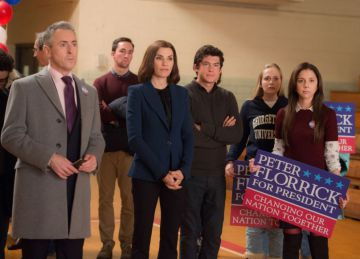 'The Good Wife', en los 'causus' de Iowa.