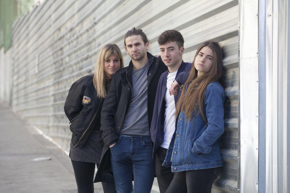 El grupo de Música Belako.