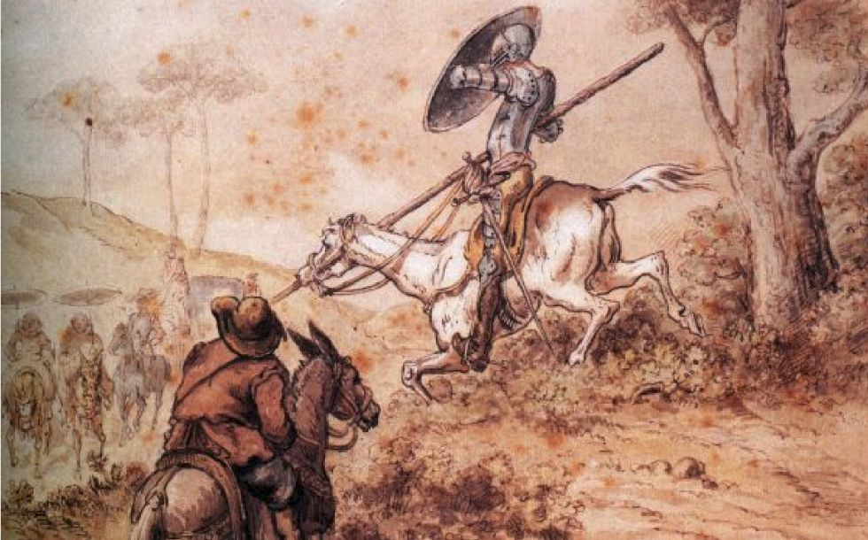 Ilustración de Gustave Doré para 'El Quijote'.