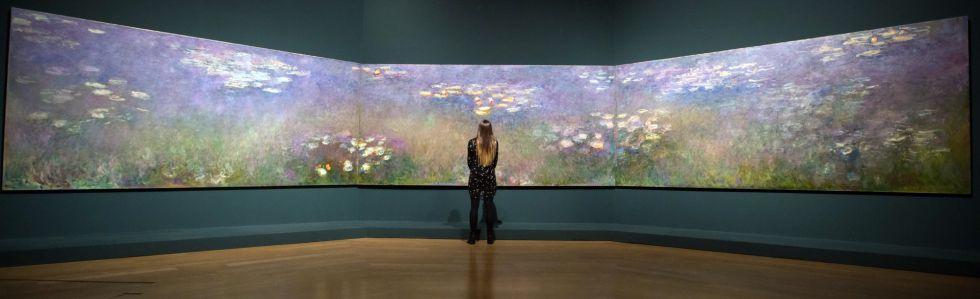 Monet y el fest n de color en los jardines impresionistas - Fotos de cuadros de monet ...