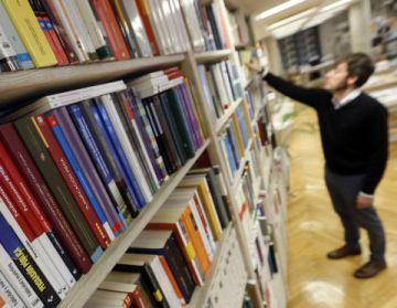 Una librería en Madrid