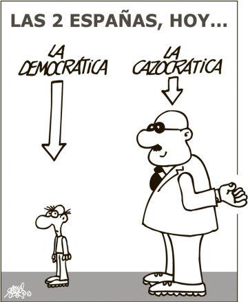 La viñeta publicada por Forges hoy, 28 de enero, en EL PAÍS.