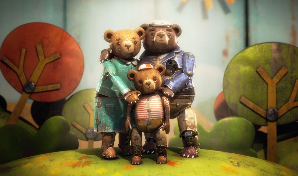 Oscars 2016: 'A bear story'