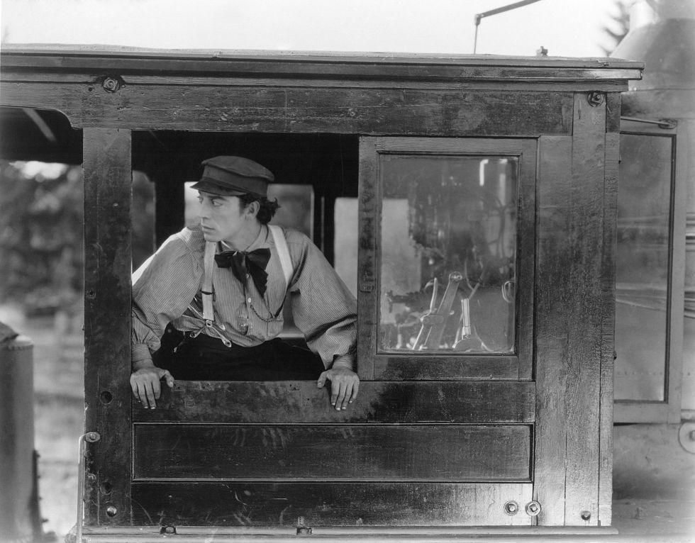 Buster Keaton, en 'El maquinista de La General'