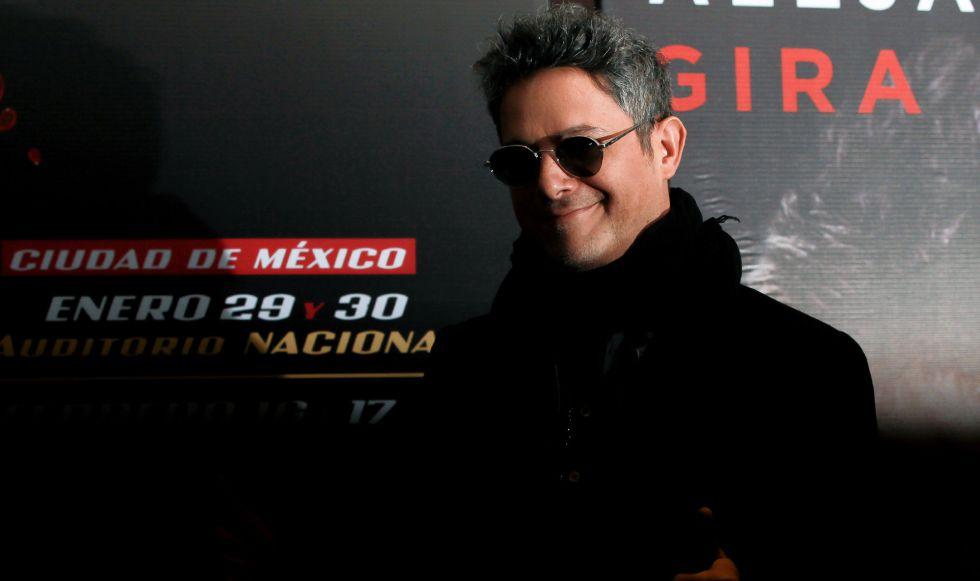 Alejandro Sanz presenta su gira Sirope en México.