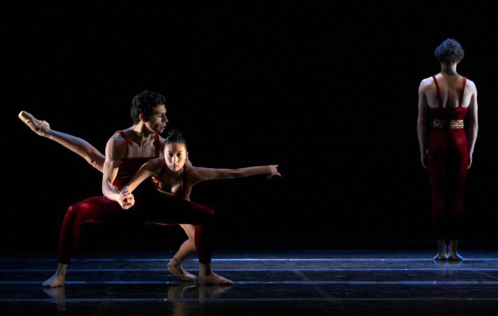 Un momento del ensayo del Silicon Valley Ballet en los Teatros del Canal.