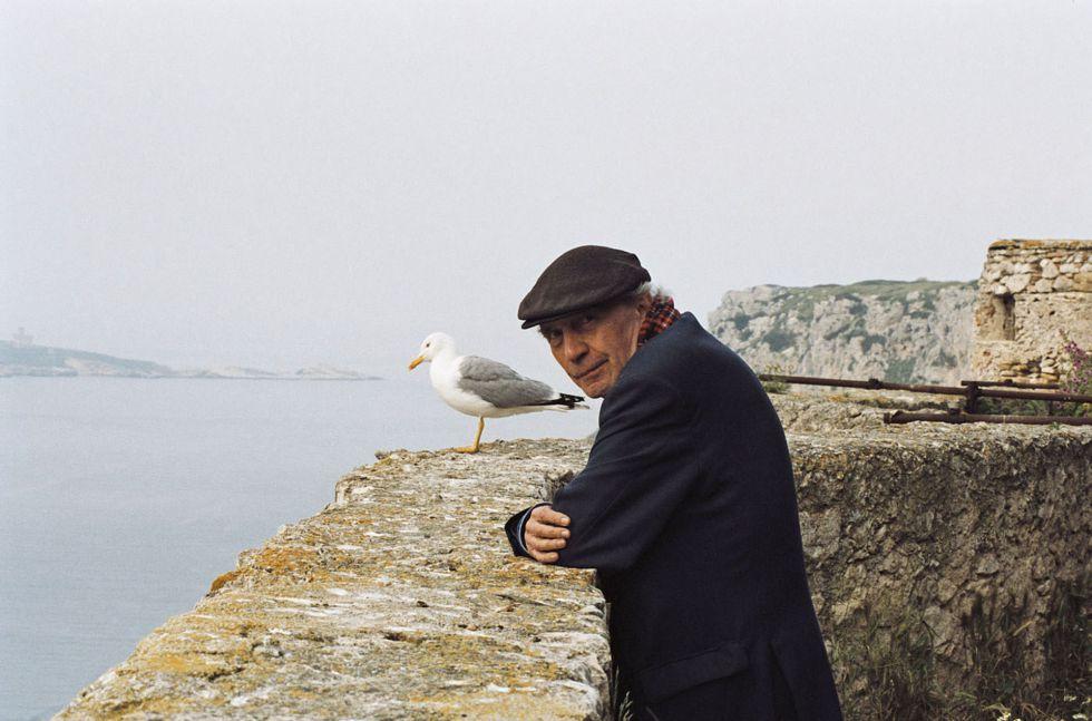El cineasta francés Jacques Rivette, retratado en 2009.