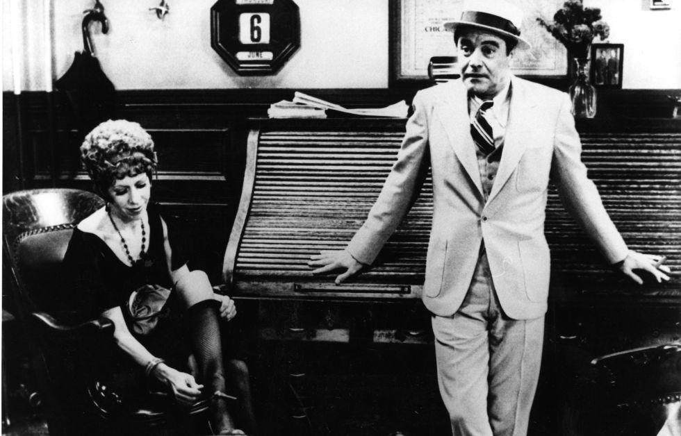 Jack Lemmon y Carol Burnett, en 'Primera plana'