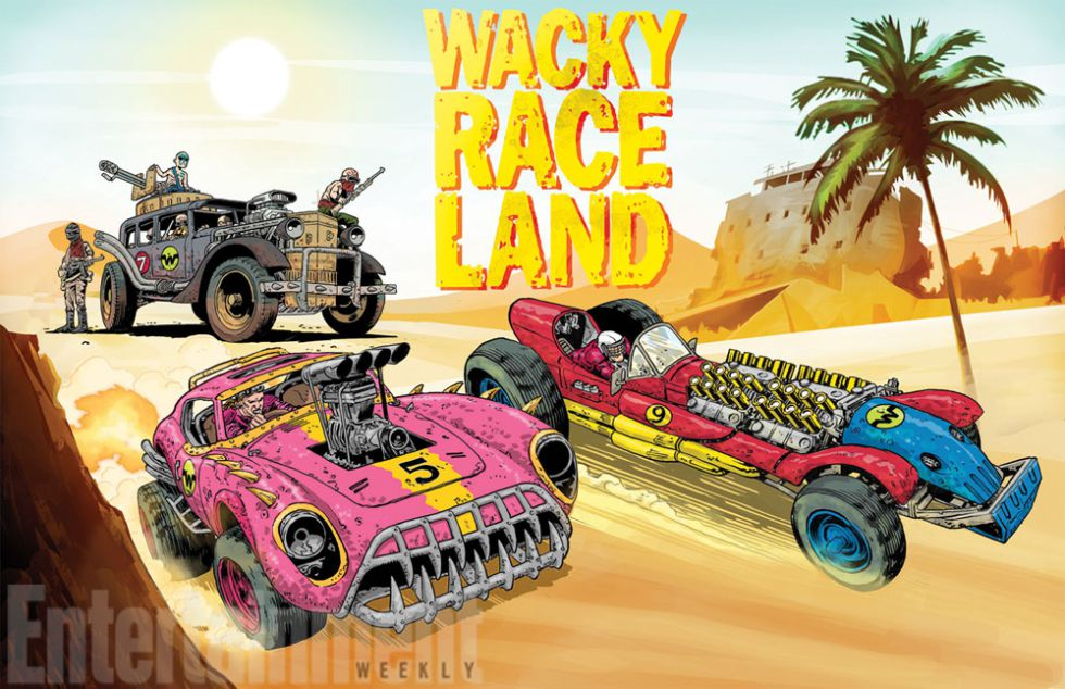 'Wacky Race Land', de Mark Sexton.