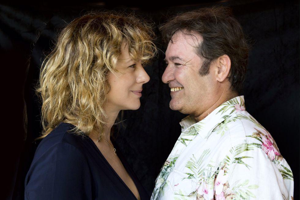 Emma Suárez y Jorge Perugorría en el Hay Festival de Cartagena de Indias