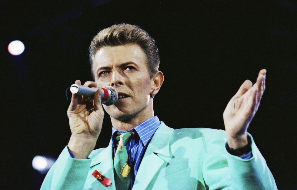 David Bowie en una imagen de 1992.