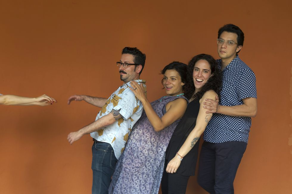 Álvaro Robledo, Melba Escobar, Amalia Andrade y Andrés Felipe Solano
