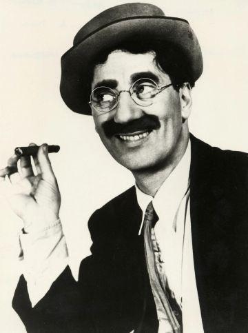 Groucho Marx en 'Una noche en Casablanca'.