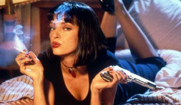 Uma Thurman en 'Pulp Fiction'.