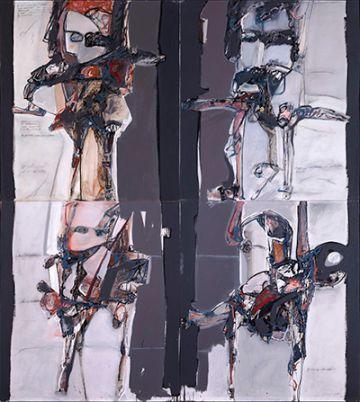 'Victimario', 1965. Obra de José Luis Fajardo.