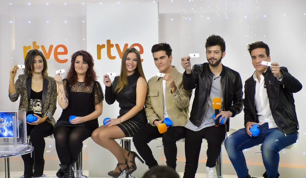 Candidatos de Objetivo Eurovision