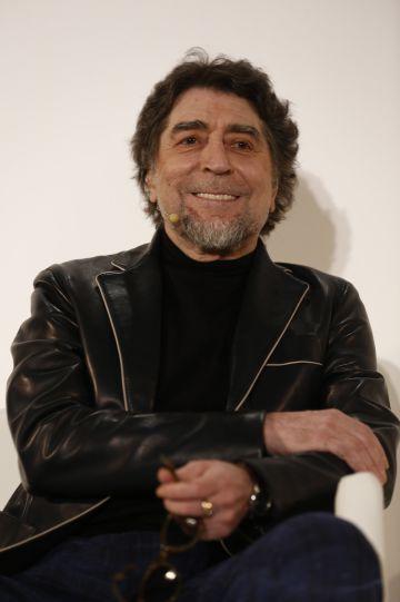 Joaquín Sabina, durante la presentación de su obra de dibujos 'Garagatos'