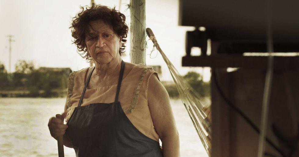 Vicky Hernández encarna a Rosa en 'La Ciénaga, entre el mar y la tierra'.