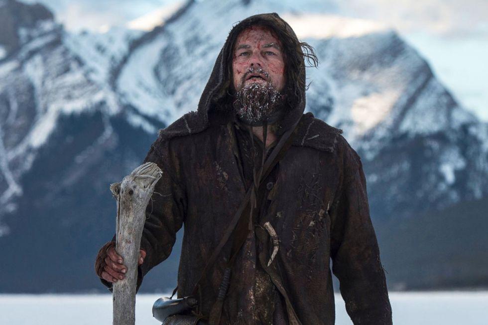 Leonardo DiCaprio, en 'El renacido'