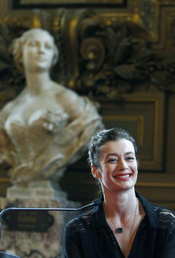 La bailarina Aurélie Dupont, la sustituta de Millepied al frente de la Ópera de París.