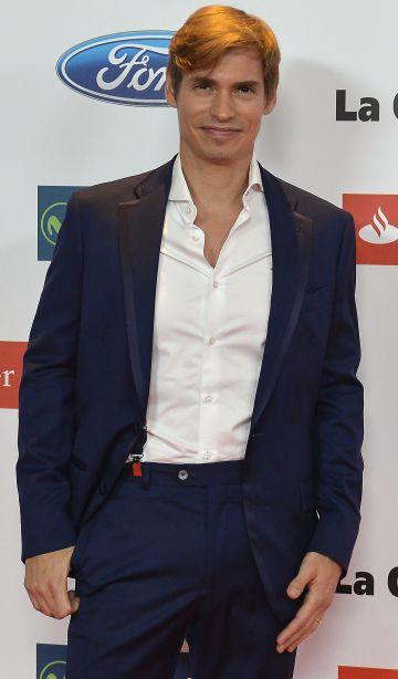 Carlos Baute, en Madrid en diciembre de 2015.