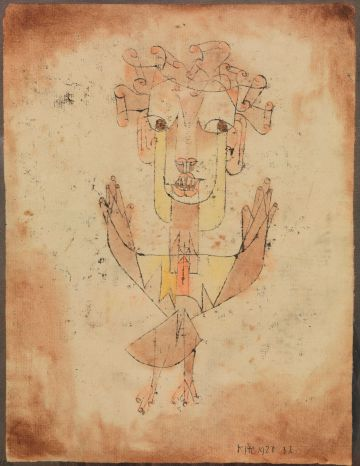 'Angelus Novus', de Paul Klee.
