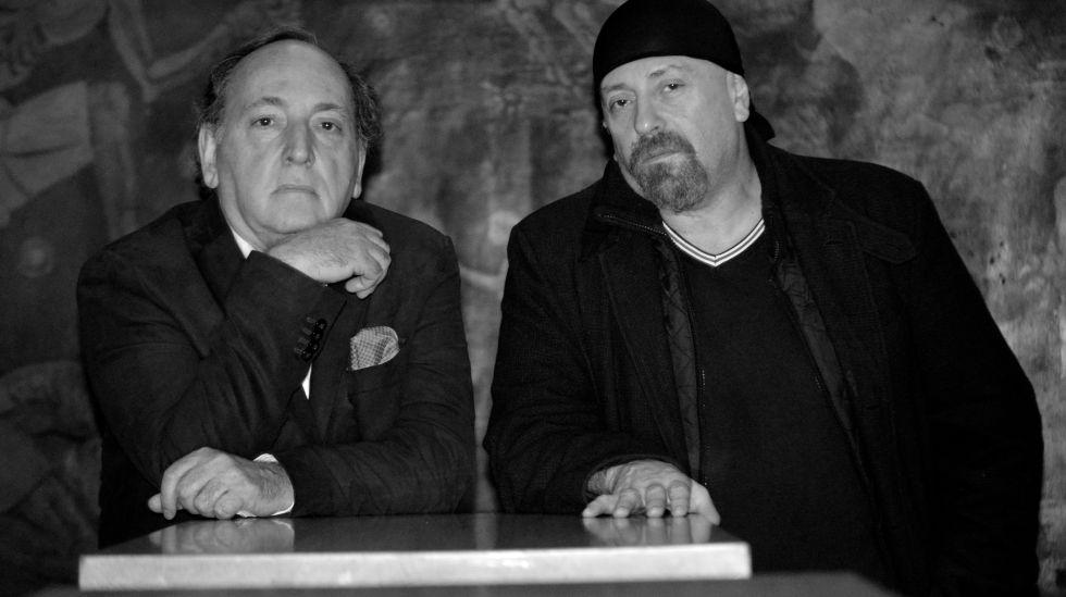 Ernesto Mallo y Carlos Salem, el jueves en Barcelona.