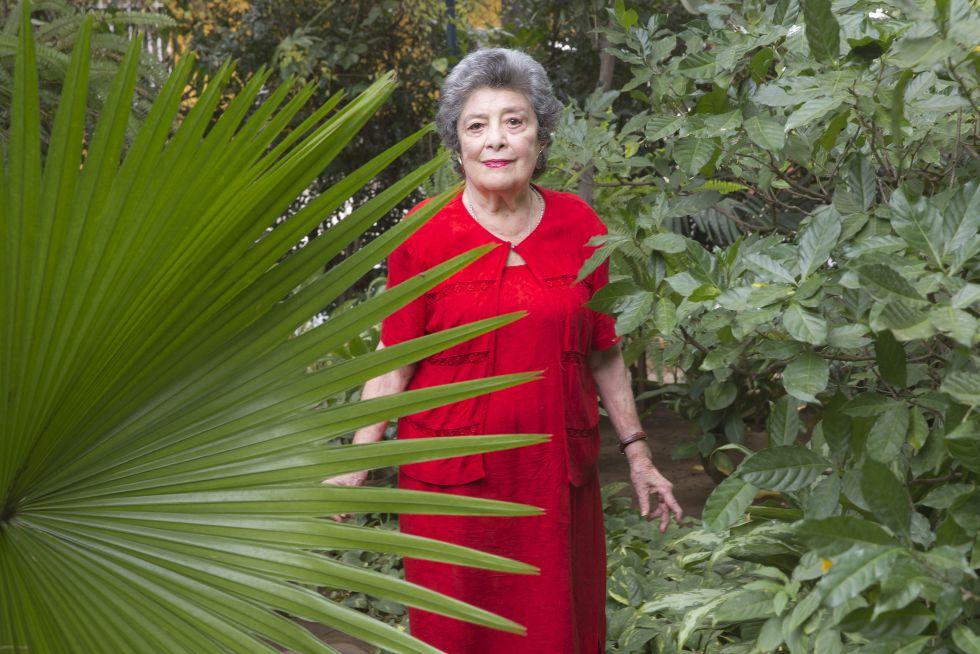 La poeta nicaragüense Claribel Alegría.