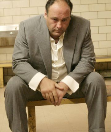 James Gandolfini, en el papel de Toni Soprano.