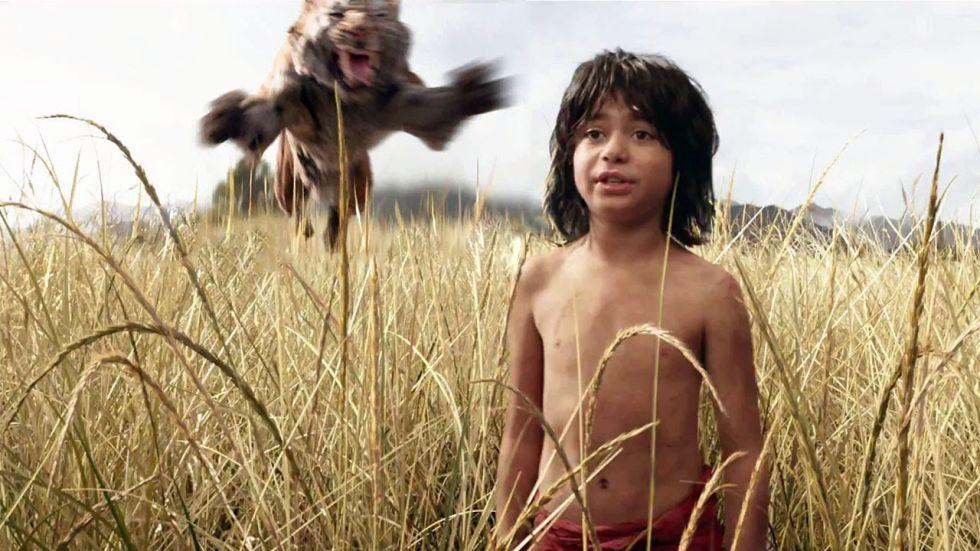 Fotograma de 'El libro de la selva'.