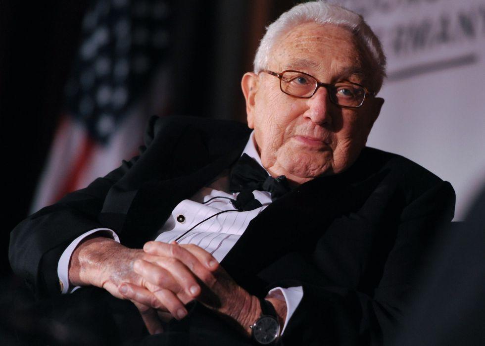 Henry Kissinger en una imagen de 2014.