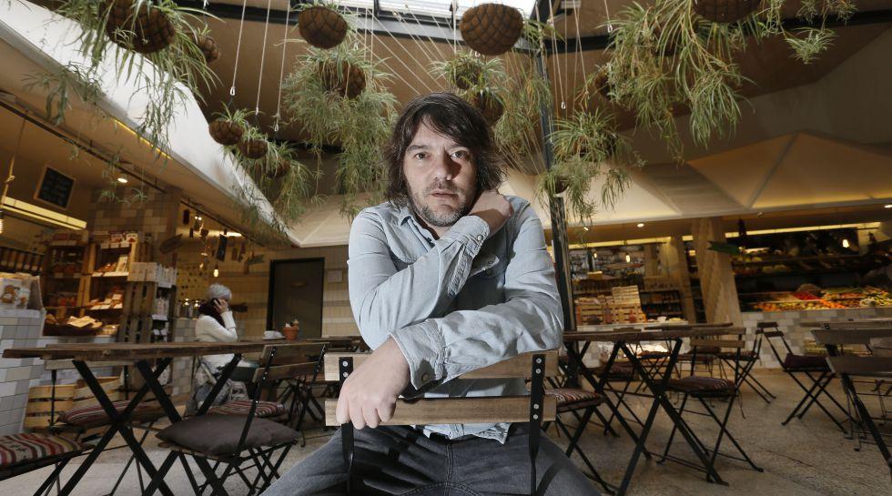 Luis Ramiro, fotografiado en El huerto de Lucas, en Madrid.