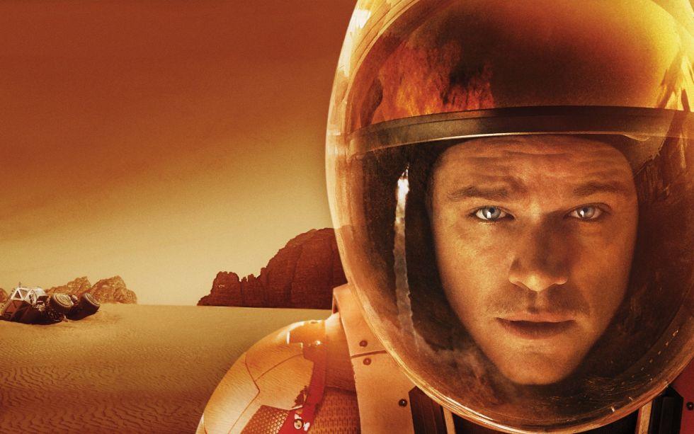 Fotograma de 'Marte'.