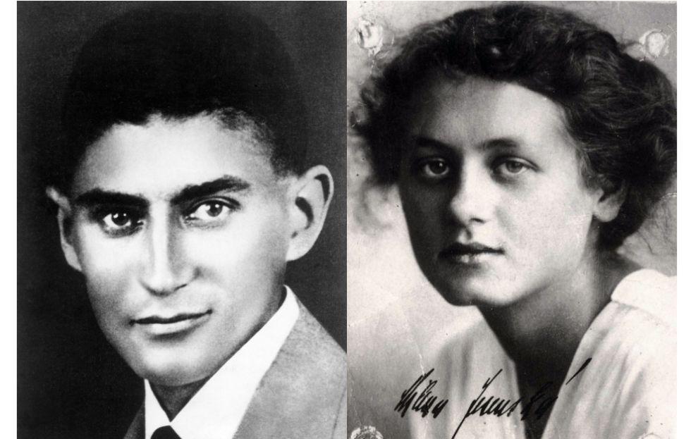 Franz Kafka y Milena Jesenská.