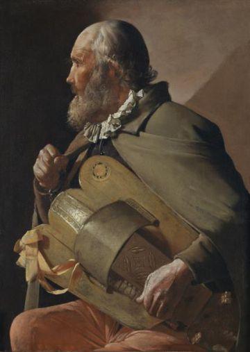 'Ciego tocando la zanfonía', de 1620-1630.