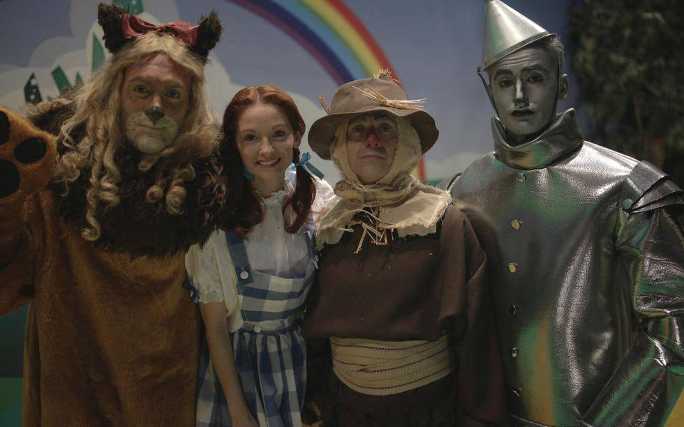 Parodia de 'El mago de Oz'.