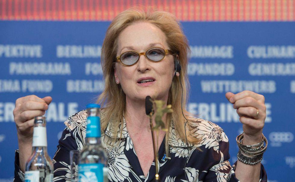 Meryl Streep, presidenta del jurado de Berlinale 2016