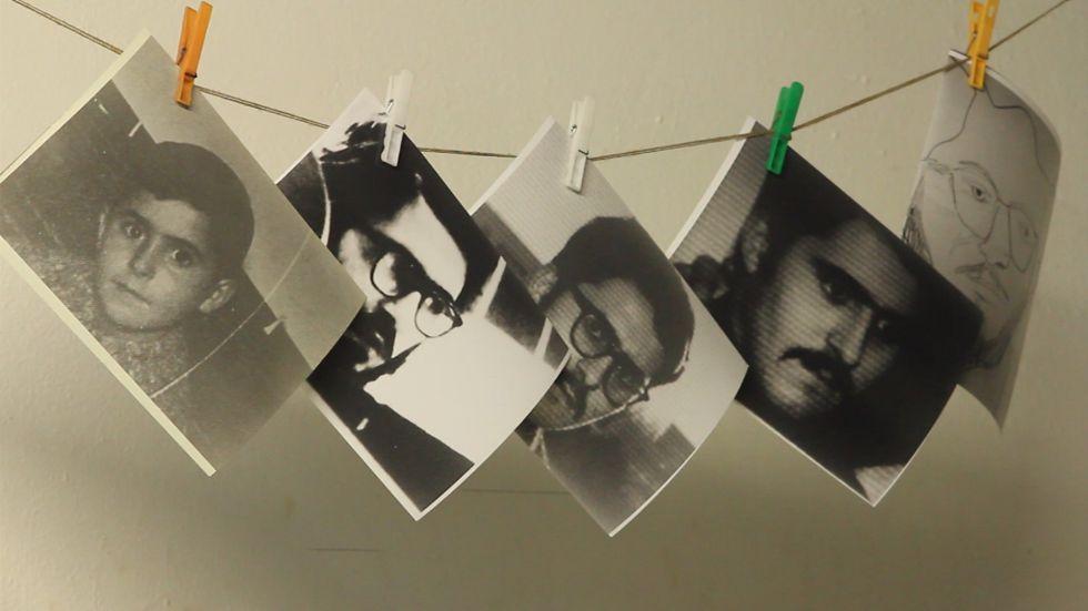 Cinco imágenes de Maenza, en el documental 'Materialista, idealista, cinematógrafo, magnetófono, buen chico y sádico', de Carles Candela.
